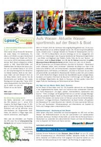 Freizeit Tourismus Lipsia-e-motion 01-2015